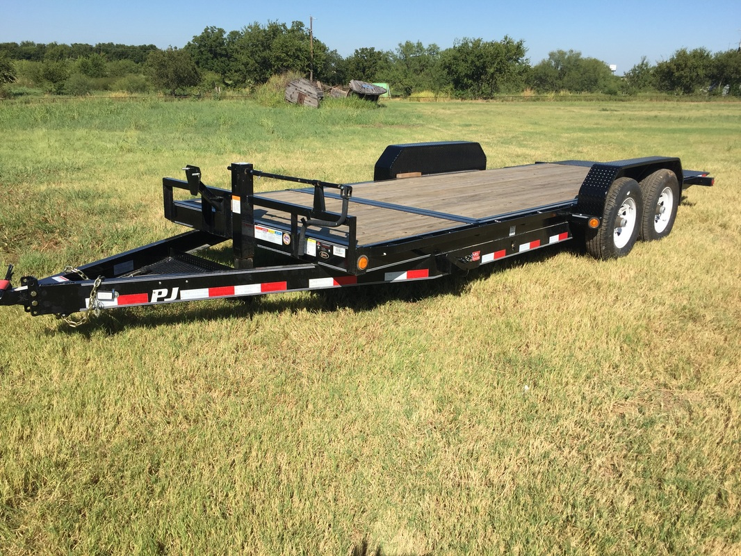 Pj 20x96 In 8 I Beam Deckover Brand M Trailer Sales Henrietta Tx Ww Stock Wiring Harness For Lights Pause